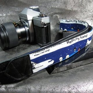 """Dream Outer Space"" Decompression Belt Camera Belt Uc Lily Camera Strap"