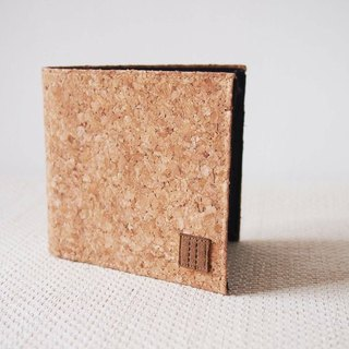Paralife Custom Handmade Cork Short Wallet / Clutch / Purse (custom made size)