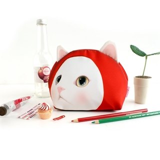 JETOY, Choo choo sweet cat doll Cosmetic _Red hood (J1309104)
