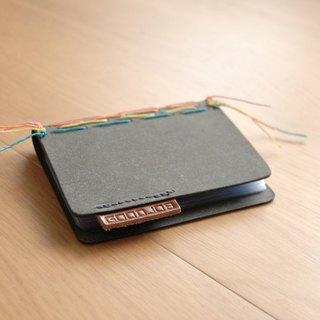 GOODJOB ColorStitch color line series │ 10 into the card holder