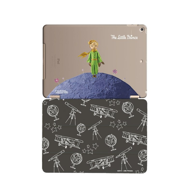 "Little Prince Movie Version authorized Series - [Little Prince's world] ""iPad Mini"" Crystal Case + Smart Cover (magnetic pole)"