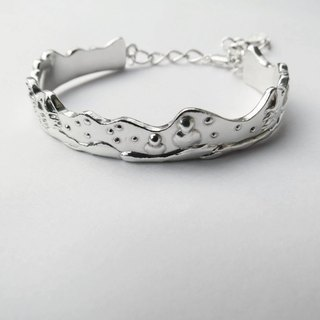 Christmas Snow (925 sterling silver bracelet) - Cpercent handmade jewelry