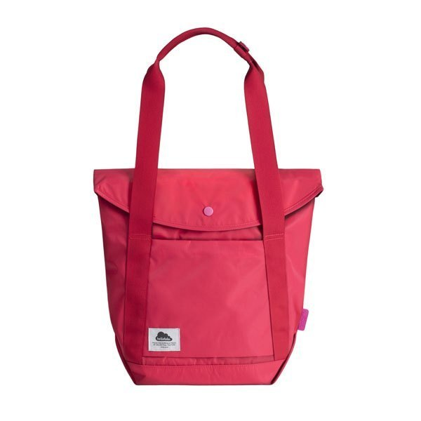 "Hellolulu - Life Tote Laptop Bag - Kara 13 ""- Strawberry Red"