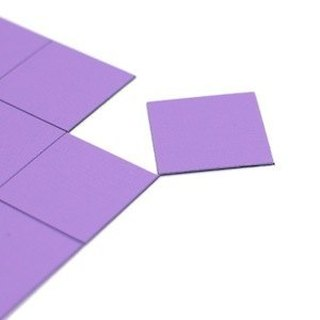 3+ magnet (collage) squares neon purple ‧