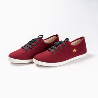 Comfortable Casual Flat Shoes Red