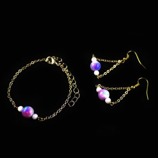 [Moonlight] Yuzhu bracelet earrings jewelry group