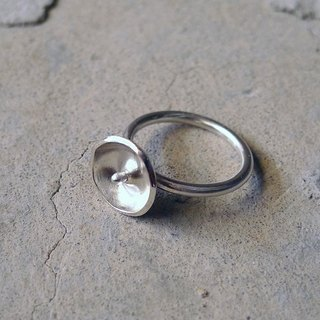 Original series of sterling silver rings