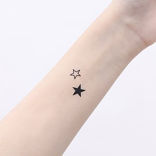 Surprise Tattoos / Starshine Sparkling Tattoos Sticker