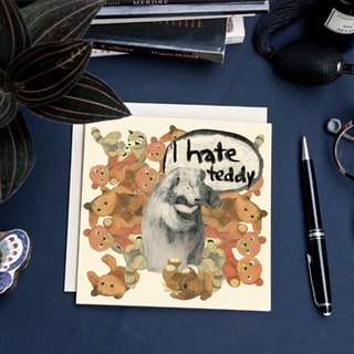<The most beautiful moment> Greeting Cards / I hate Teddy (Single)
