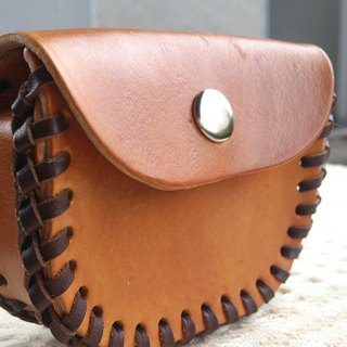 [Ghost] cloth custom handmade leather purse