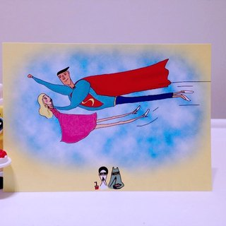 Superman Movie | Postcard