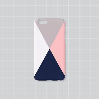 iPhone case - Color patch pyramid for iPhones - non-glossy M11