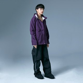 [MORR] Parvati female version of the raincoat jacket [deep purple] - all weather jacket
