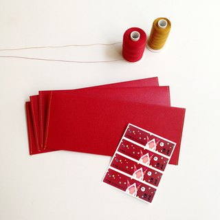 Red bag. Hi line red envelopes - four into