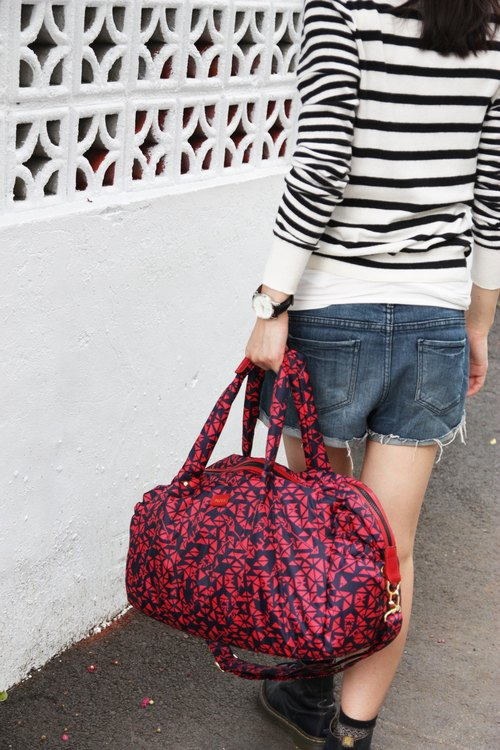 PAZEAL Puffy Wkender extremely lightweight bag (Hongyan)