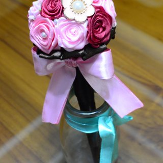 CAmelliaT Camellia cat*jewelry bouquet signature pen [special custom made ​​money]*was * sisters small wedding ceremony