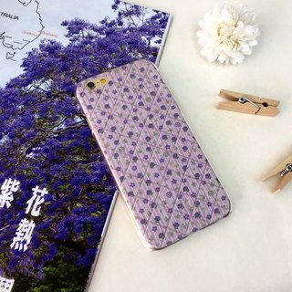 Roses Pink & Purple Print Soft / Hard Case for iPhone X,  iPhone 8,  iPhone 8 Plus,  iPhone 7 case, iPhone 7 Plus case, iPhone 6/6S, iPhone 6/6S Plus, Samsung Galaxy Note 7 case, Note 5 case, S7 Edge case, S7 case
