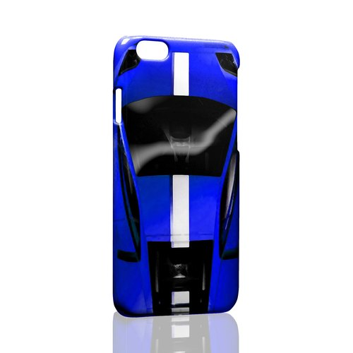 Car and - blue sports car custom Samsung S5 S6 S7 note4 note5 iPhone 5 5s 6 6s 6 plus 7 7 plus ASUS HTC m9 Sony LG g4 g5 v10 phone shell mobile phone sets phone shell phonecase