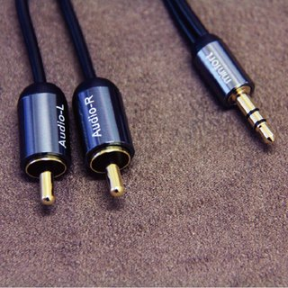 MINFOR / 2RCA to 3.5mm stereo audio cable