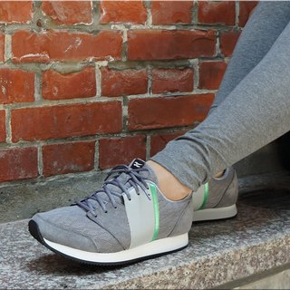 VPEP Fashion casual shoes / V-Classic / polar gray - white - mint green / simple casual, fashion classic, breathable soft