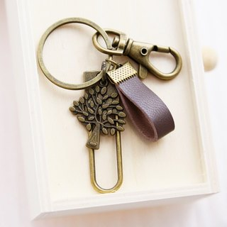 Wishing Tree Leather Charm