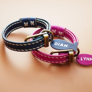 Handmade Leather Cat Collar,Pet Collar   sizeM   Engraving service for FREE.