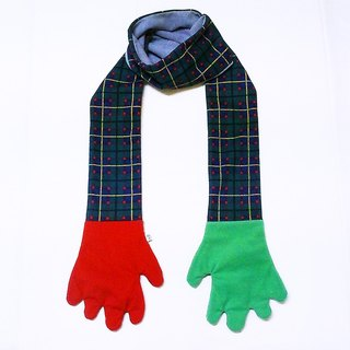 Mr.WEN Gloves scarf – Christmas tree