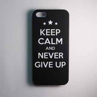SO GEEK 手機殼設計品牌 THE KEEP CALM GEEK NEVER GIVE UP款
