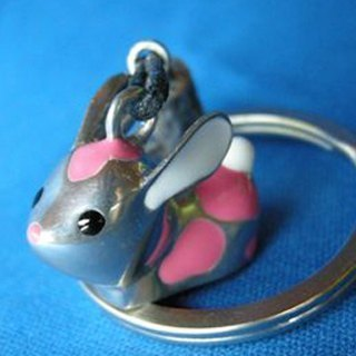 """Dear Deer"" pink rabbit. Key ring (12 Zodiac series of classic best-selling models)"