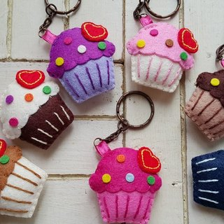 """Mini bear hand as"" Bei Bei の lovely cake / Charm / keychain"