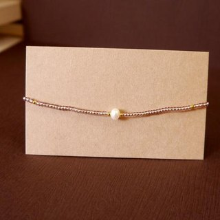 Light you up mini pearl bracelet