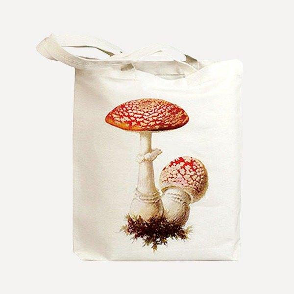 Idiopix Tote Bag・紅色蘑菇