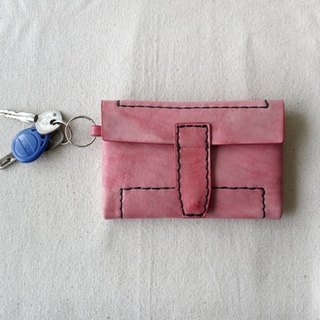 [Kaka & amp; sun] leather wallets handmade leather goods. Multi-color into the