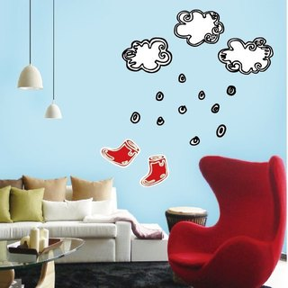 Magnetic wall stickers --Rouge in the rain