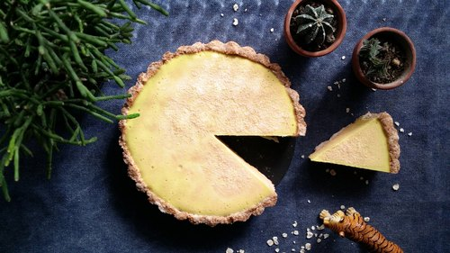 _ Item gentle vegan vegan lemon tower seanwenwen vegan lemon tart