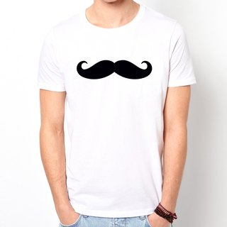 Mustache # 3 T-shirt -2 color mustache mustache retro glasses fashionable father Wen Qing Art and Design