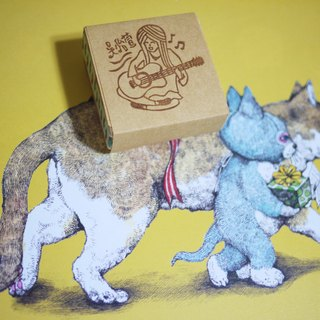 Hand carved rubber stamp - exclusive customized (size 80mm * 40mm)