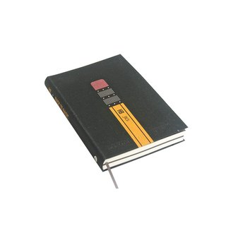 九口山224P pencil series horizontal line notebook-03 (BACK TO BASIC)