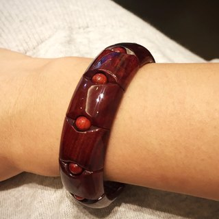 Design wristbands - non-state blood sandalwood
