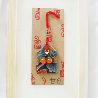 │ handmade creative blessing bag persimmon persimmon wishful