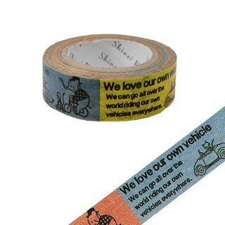 Shinzi Katoh Kato Shinji French illustration paper tape (vehicle KS-MT-10019)