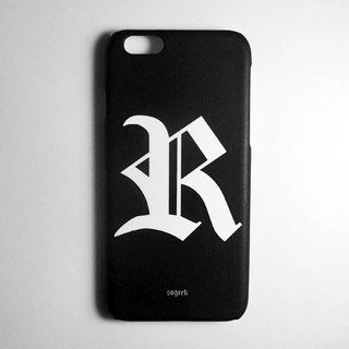 SO GEEK phone shell design brand THE OLD ENGLISH GEEK trend Goethe subsection (black)