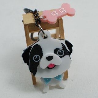Q version of Mao child customized strap / acrylic / any breed can be customized [body]