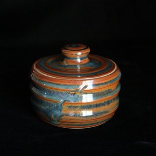 Small Sugar Bowl with a lid color # 3034