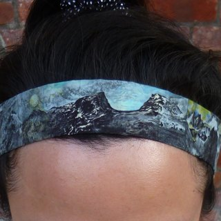 US rock collection Liuyingchieh elastic hair band elastic headband o o cloth hair ring