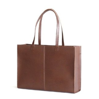 Tuosikani vegetable tanned leather handbag / shoulder bag