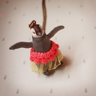 Fabulous Adventure - ballet Little Penguin necklace