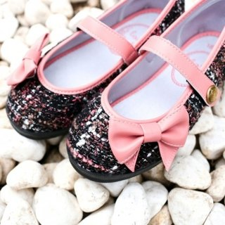 Maria blackberry red bow doll shoes (zero code special offer only accept returns)