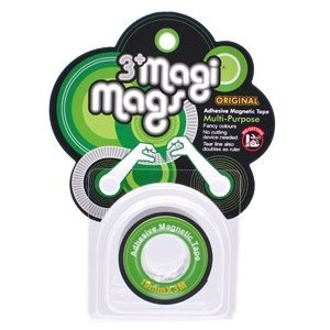 3+ MagiMags Magnetic Tape    19mm x 3M Classic.Green