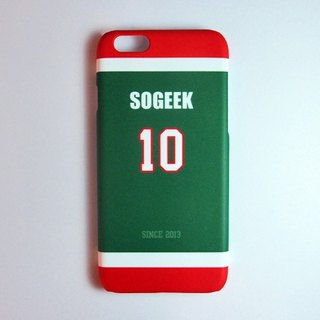 SO GEEK phone shell design brand THE JERSEY GEEK jersey back number Customized paragraph 044